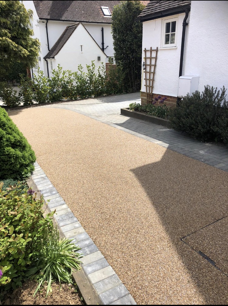 resin driveways in newmarket