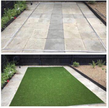 artificial grass installers in Cambridge